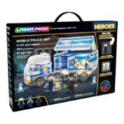 Laser Pegs Heroes Mobile Police Unit 300-piece Construction Block Set