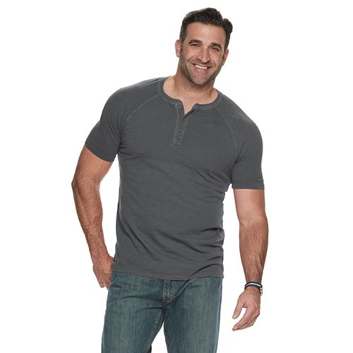 Big & Tall SONOMA Goods for Life™ Supersoft Washed Henley