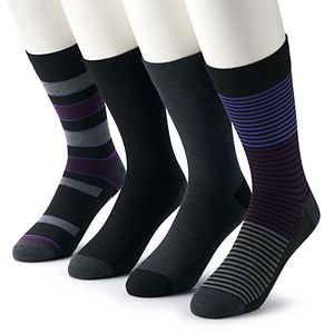 Men's Van Heusen 4-pack Flex Fashion Crew Socks