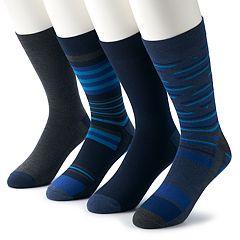 Men's Van Heusen 4-pack Flex Fashion Crew Socks