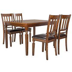 Safavieh Kodiak 5-Piece Dining Set