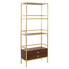 Safavieh Mateo 4-Tier 1-Drawer Etegere Shelf