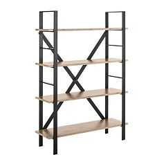 Safavieh Raylan Retro Midcentury 4-Tier Etegere Shelf