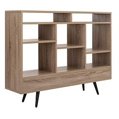 Safavieh Marina Retro Mid Century Wood Etegere Shelf