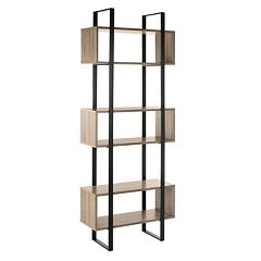 Safavieh Adhara Retro Mid Century Wood Etegere Shelf