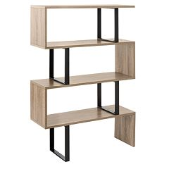 Safavieh Louise Retro Mid Century Wood Etegere Shelf