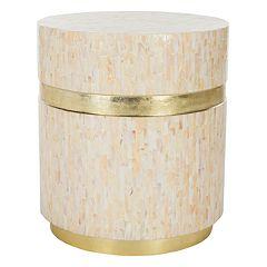 Safavieh Perla Mosaic Round Side Table