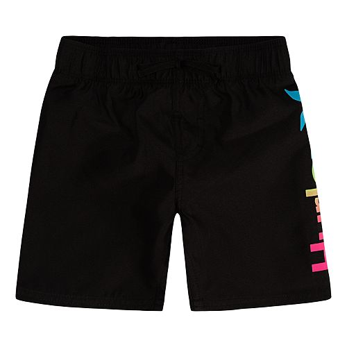 Toddler Boy Hurley One & Only Gradient Pull-On Swim Trunks