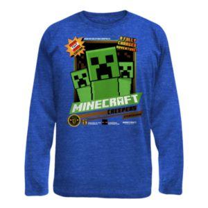 Boys 8 20 Minecraft Creeper Tee