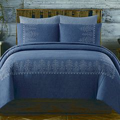 Cottage Classics Chambray Duvet Cover Set