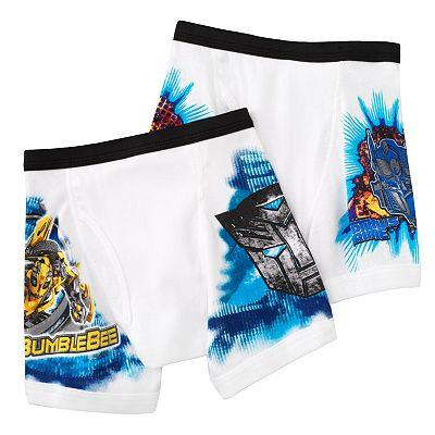 Transformers 2-pk. Boxer Briefs - Boys 7-11