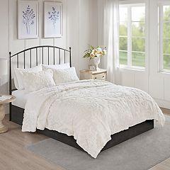 Madison Park Aeriela 3-piece Cotton Chenille Coverlet Set