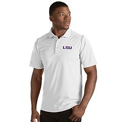 Men's Antigua LSU Tigers Merit Polo