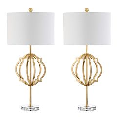Safavieh Lynx 2-piece Table Lamp Set
