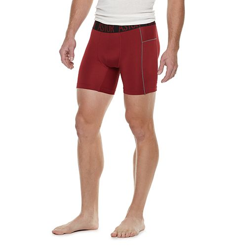 Men's Astor Place 2-Pack Performance 6-inch Boxer Briefs