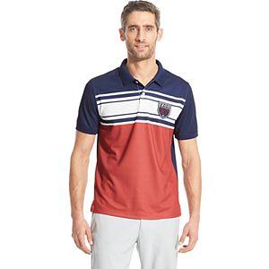 3f044499e Sale.  24.99. Original.  50.00. Men s IZOD Americana-Striped Classic-Fit  Polo