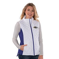 Women's Baltimore Ravens Quilted Vest