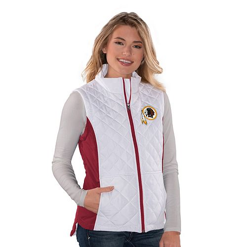 wholesale dealer 3d984 1a46e Women's Washington Redskins Quilted Vest