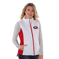 Women's San Francisco 49ers Quilted Vest