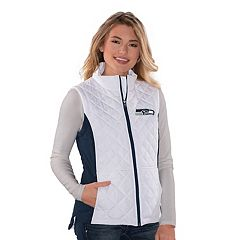 Women's Seattle Seahawks Quilted Vest