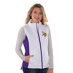 Women's Minnesota Vikings Quilted Vest