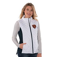 Women's Chicago Bears Quilted Vest