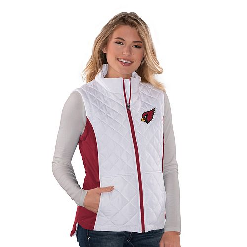 a5659bf9 Women's Arizona Cardinals Quilted Vest