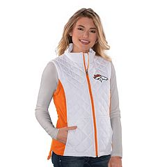Women's Denver Broncos Quilted Vest