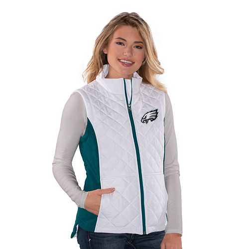 buy online f036c bb363 Women's Philadelphia Eagles Quilted Vest