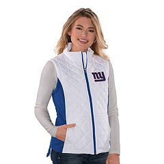 Women's New York Giants Quilted Vest