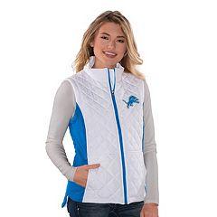Women's Detroit Lions Quilted Vest