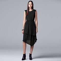 Women's Simply Vera Vera Wang Layered Ruffle Dress