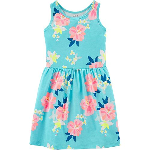 Girls 4-12 Carter's Floral Racerback Dress