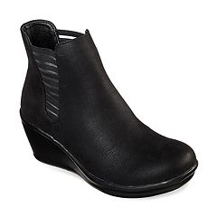 Skechers Rumblers Beam Me Up Women's Wedge Ankle Boots