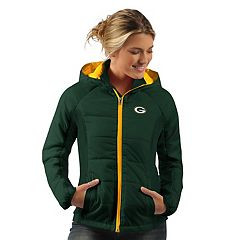 Women's Green Bay Packers Run Down Puffer Jacket