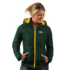 Women's Green Bay Packers Run Down Puffer Jacket