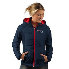Women's New England Patriots Run Down Puffer Jacket