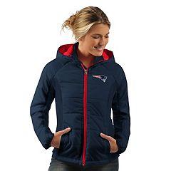Women's New EnglandPatriots Run Down Puffer Jacket