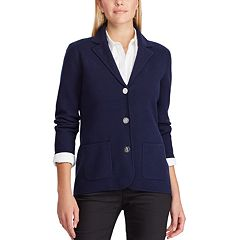 Women's Chaps Sweater Blazer