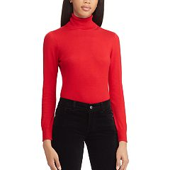 Women's Chaps Ribbed Turtleneck Sweater