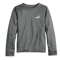 Boys 4-7 PUMA Logo Performance Top