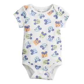 Disney's Mickey Mouse Baby Boy Softest Bodysuit by Jumping Beans®