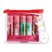 Simple Pleasures Glitter 5-Piece Lip Balm Set