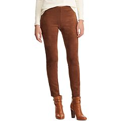 Women's Chaps Faux-Suede Leggings