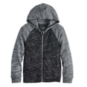 Boys 4-12 SONOMA Goods for Life? Lightweight Knit Raglan Zip Hoodie