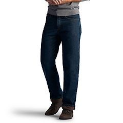 8e0aff0d Big & Tall Lee Relaxed-Fit Fleece-Lined Jeans