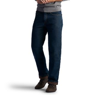 Big & Tall Lee Relaxed-Fit Fleece-Lined Jeans