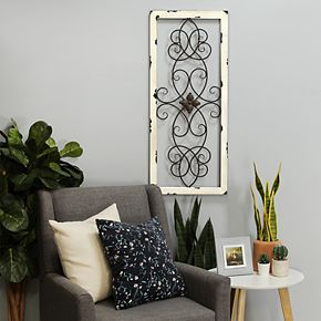 Stratton Home Decor Scroll Wall Decor