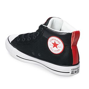 Men's Converse Chuck Taylor All Star Street Mid Leather Sneakers