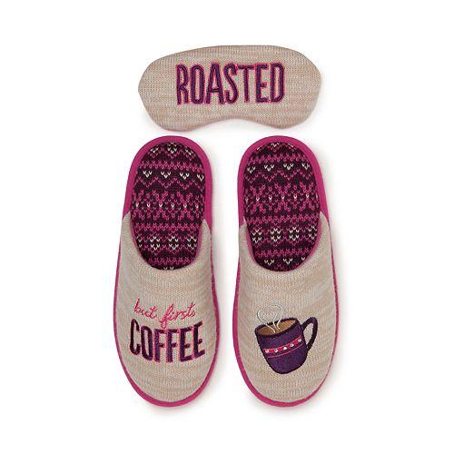 Women's Dearfoams Novelty Scuff Slippers